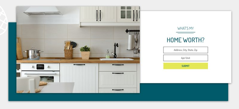 Our simple, personalized home value tool can be accessed on our homepage